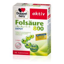 Doppelherz aktív Folsav + B6 + B12 + C + E  40 db