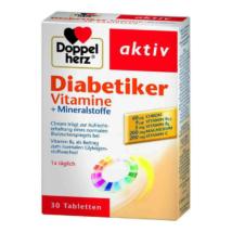 Doppelherz aktív DiaCare vitamin és ásványi-anyagok 30 db