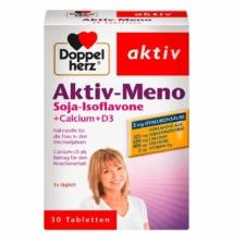 Doppelherz aktív szója-izoflavon + kálcium + D3 tabletta 30 db