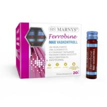 Marnys Ferrobine max vaskontroll ivóampulla  20 x 10 ml