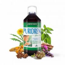 Natur Tanya Puridren koncentrátum – Sav-bázis egyensúly és méregtelenítés, 12 gyógynövény és klorofill erejével. 500ml