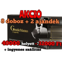 GENTLEMANUS POTENCIANÖVELŐ AKCIÓS csomag 8 + 2 INGYEN