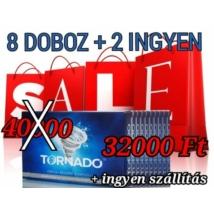 Tornado potencianövelő akciós csomag 8 doboz + 2 ingyen