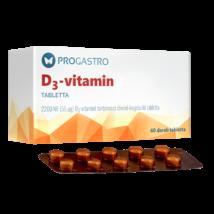 ProGastro D3-vtamin 60 db
