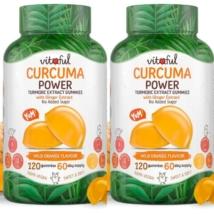 Vitaful Curcuma Power Kurkuma Gumivitamin akciós csomag 2 db