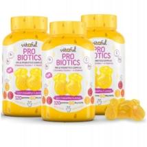 Vitaful Probiotics Probiotikum Gumivitamin akciós csomag 3 db